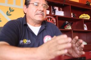 Mario González Pérez, comandante del Cuerpo de Bomberos Voluntarios de San Luis Río Colorado (1)