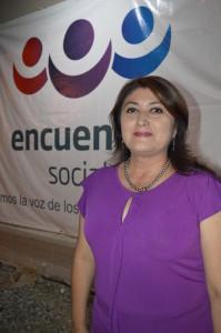 Elsa Cruz, candidata a la alcaldía por el PES