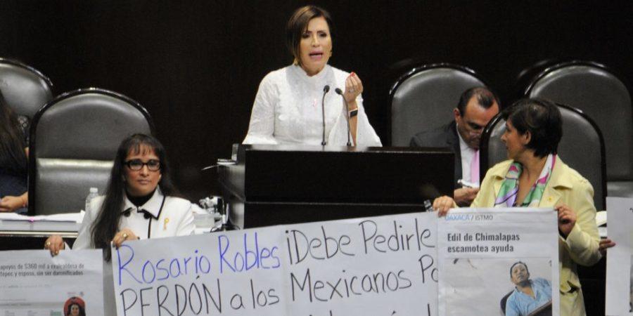 Robles acusa a Animal Político y MCCI de violencia de género por La Estafa Maestra