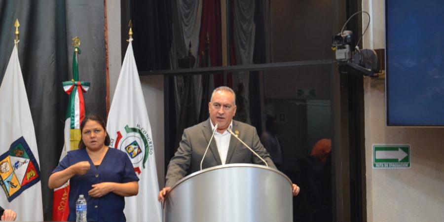 Pide diputado Montes Piña, crear el derecho a una buena administración en Sonora
