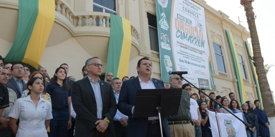 Convoca rector de UABC a Marcha del Orgullo Cimarrón