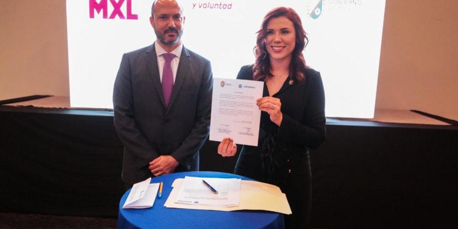 Presenta Marina del Pilar proyectos estratégicos ante Coparmex-Mexicali