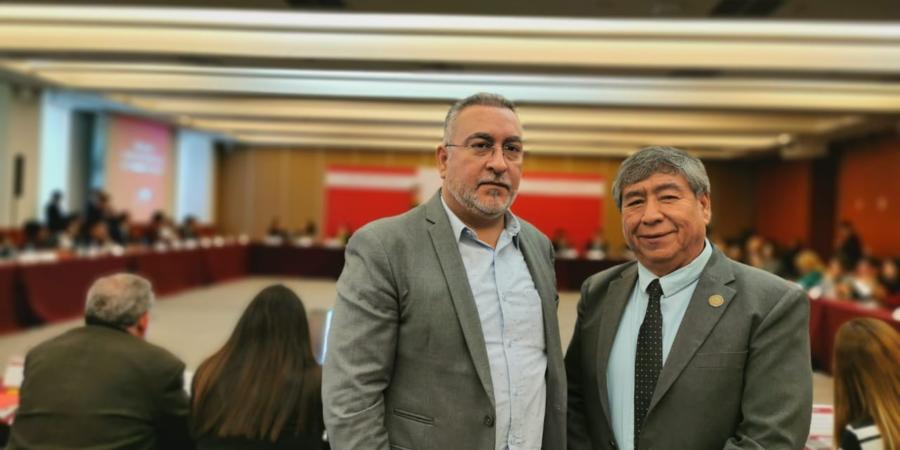 Participan diputados del PES en reunión con SRE y Gobernación