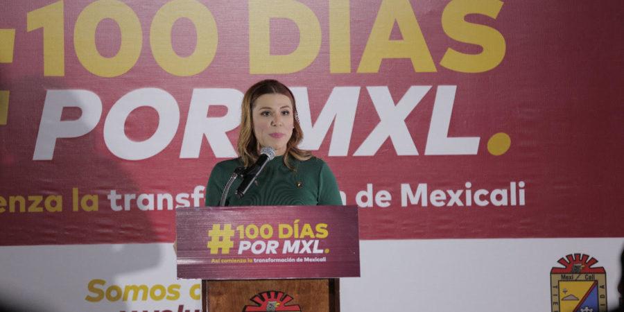 Celebra Marina del Pilar primeros 100 días de trabajo