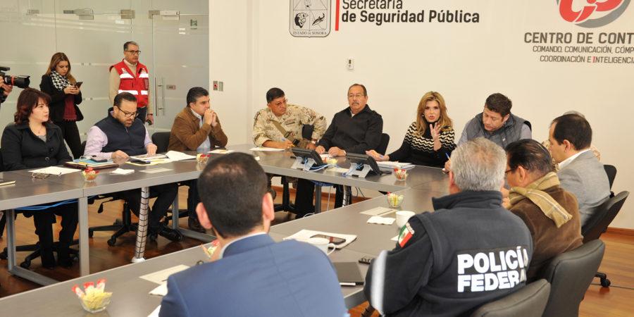 Propone gobernadora replantear estrategia de seguridad en Sonora