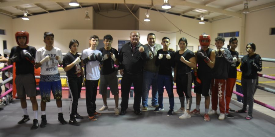 Entrega Alcalde a sanluisinos nuevo gimnasio de box