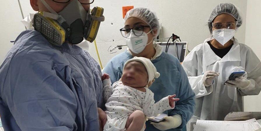 En plena pandemia, nace primer bebé de madre con Covid-19 en SLRC
