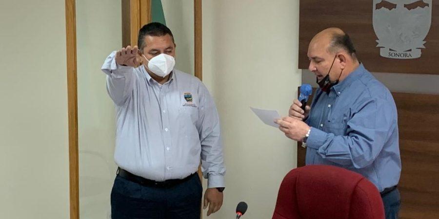 Ricardo Lugo toma protesta como nuevo Secretario del Ayuntamiento