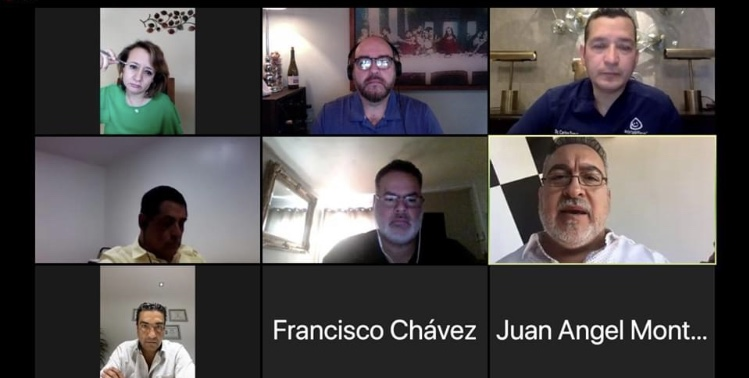 Dialoga Montes Piña con la Coparmex-SLRC