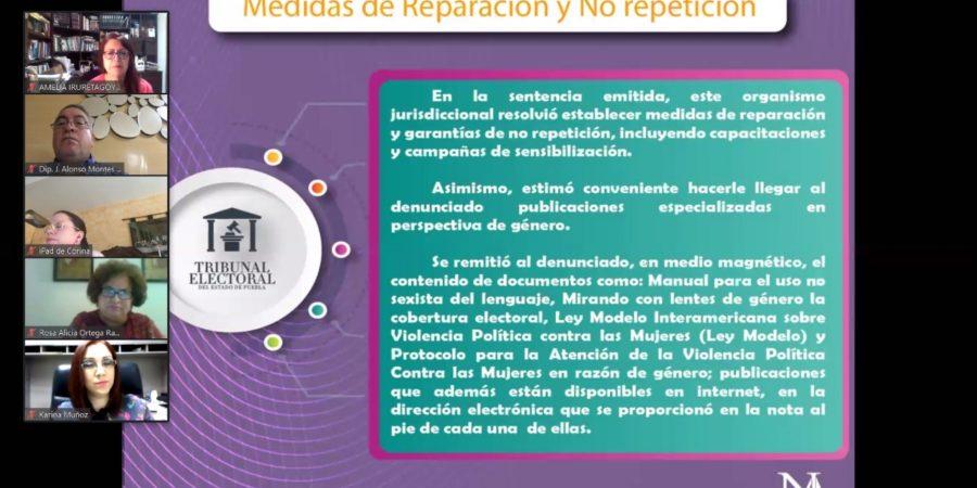 Participa Montes Piña en foro del papel de la mujer en política