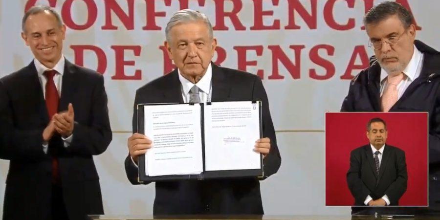 AMLO pide al Senado consulta para enjuiciar a expresidentes